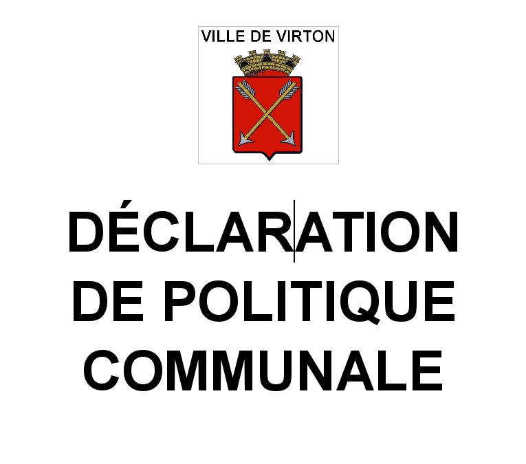 """Une feuille de route pour la majorité, la """"DPC"""" ou Déclaration de politique communale"""
