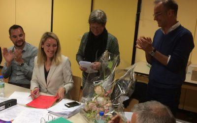 Un bel hommage d'au-revoir à Adèle Reuter